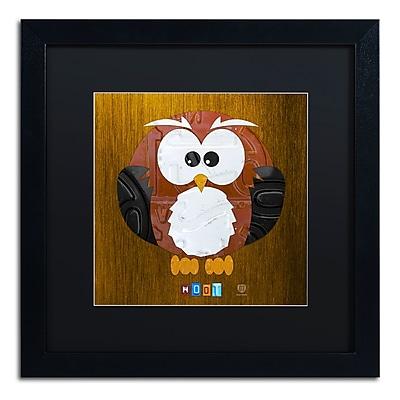Trademark Fine Art ''Hoot The Owl'' by Design Turnpike 16