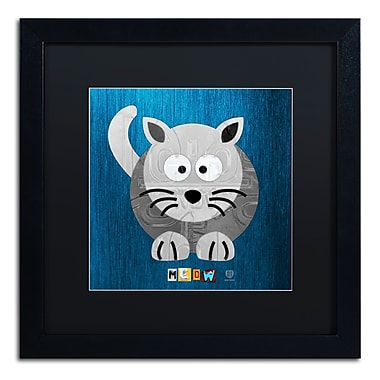Trademark Fine Art ''Meow The Cat'' by Design Turnpike 16