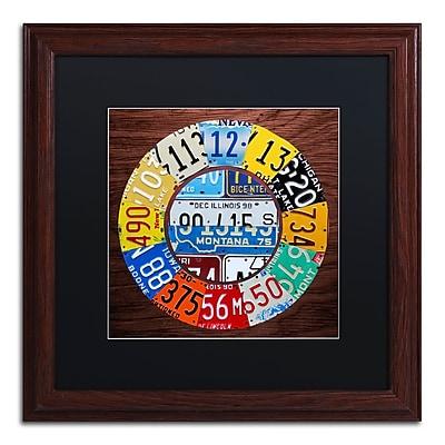 Trademark Fine Art ''Clock Square'' by Design Turnpike 16