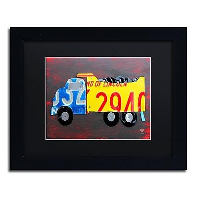 Trademark Fine Art ''Dump Truck'' by Design Turnpike 11
