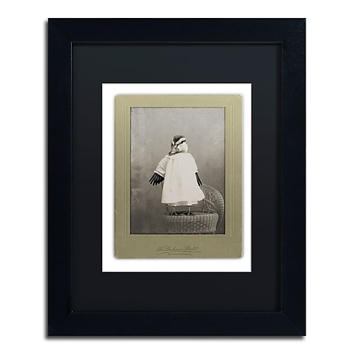 "Trademark Fine Art ''Birds #1'' by J Hovenstine Studios 11"" x 14"" Black Matted Black Frame (886511912182)"