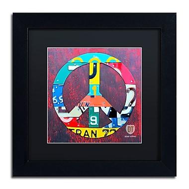 Trademark Fine Art ''Peace'' by Design Turnpike 11
