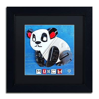 Trademark Fine Art ''Munch the Panda'' by Design Turnpike 11