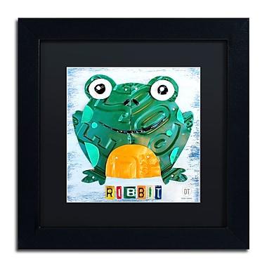 Trademark Fine Art ''Ribbit the Frog'' by Design Turnpike 11
