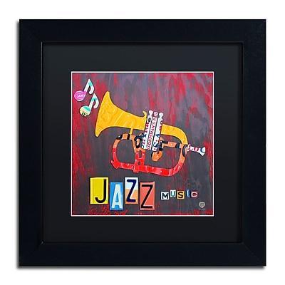 Trademark Fine Art ''Jazz Series Trumpet'' by Design Turnpike 11