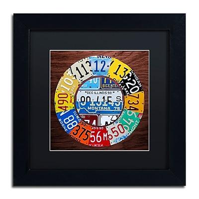 Trademark Fine Art ''Clock Square'' by Design Turnpike 11