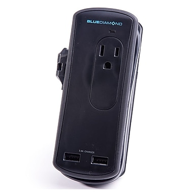 BlueDiamond Defend Travel + Charge 1' Surge Protector