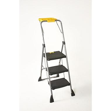 Cosco – Escabeau Step 3 marches avec plateau utilitaire, noir/jaune