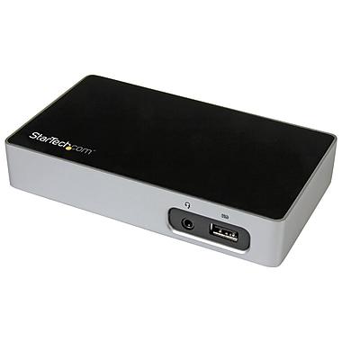 StarTech.com 4K DisplayPort Docking Station for Laptops, USB 3.0 (USB3VDOCK4DP)