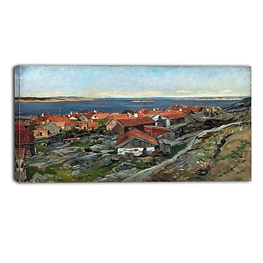 Design Art – Gerhard Munthe, View of Nevlunghavn Landscape, art mural