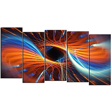 Designart Centered 5-Panel Canvas Art Print, (PT3005-1084)
