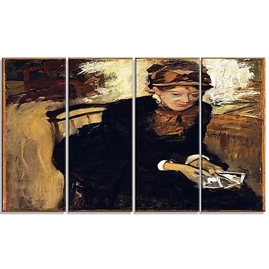 Designart Edgar Degas, Mary Cassatt Canvas Art Print, (PT4313-271)