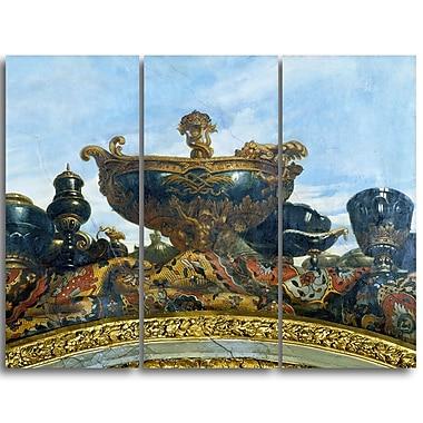 Designart – Toile imprimée, Le vaisseau de Louis XIV, René Antoine Houasse (PT4887-3P)