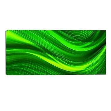 Designart – Imprimé sur toile moderne, laser vert (PT3038-32-16)