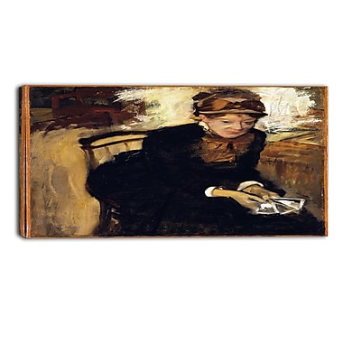 Designart Edgar Degas, Mary Cassatt Canvas Art Print, (PT4313-32-16)