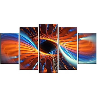 Designart Centered Artwork Canvas Art Print, 5 Panels, (PT3005-373)