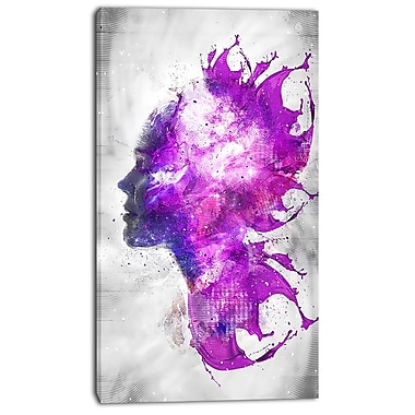 Design Art Explosive Portrait Street Art Canvas Artwork