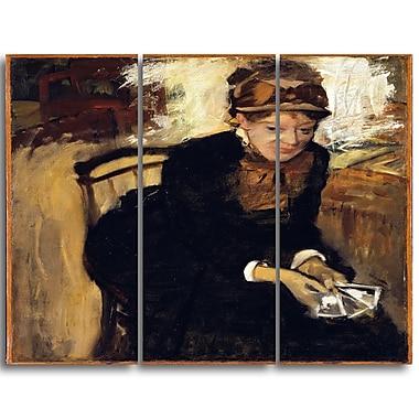 Designart – Imprimé sur toile, Quatre danseuses d'Edgar Degas (PT4313-3P)