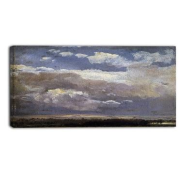 Design Art – JC Dahl, Thunderclouds, impression sur toile