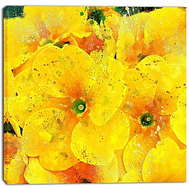 Designart bunch of yellow flowers floral canvas art print pt3441 designart bunch of yellow flowers floral canvas art print pt3441 30 30 mightylinksfo