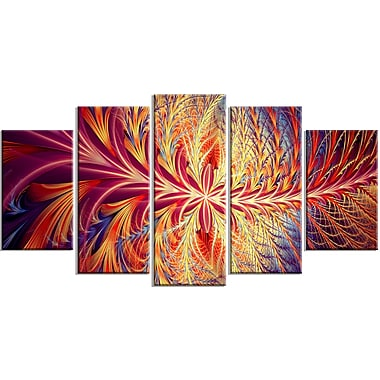 Designart In Sync Gallery-Wrapped Canvas, (PT3006-373)
