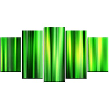 Designart Abstract Bamboo Contemporary Canvas Art, (PT3052-373)