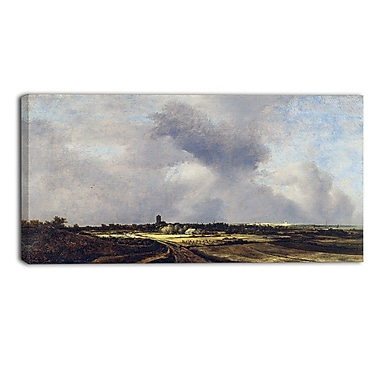 Designart Jacob Isaacksz, View of Naarden Canvas Art Print, (PT4521-32-16)