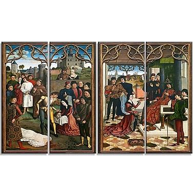 Designart – Imprimé sur toile, La Justice de l'empereur Otton III de Dirk Bouts (PT4300-271)