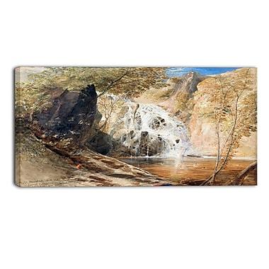 Designart Samuel Palmer, Pistil Mawddach Canvas Art Print, (PT4914-32-16)