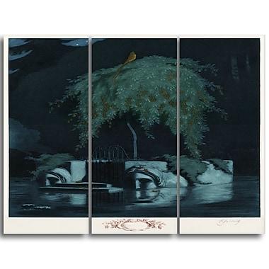 Designart – Toile imprimée de Rihards Zarins « Poets Tomb » (PT4897-3P)