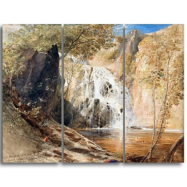 Designart Samuel Palmer, Pistil Mawddach Canvas Art Print, (PT4914-3P)