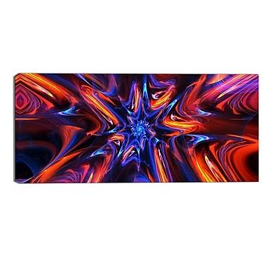 Designart Starry Trance Modern Canvas Art Print, (PT3033-32-16)