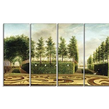 Designart – 48 larg. x 28 haut. (po), 4 panneaux (PT4626-271)