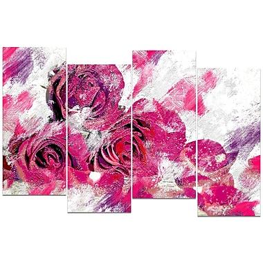 Designart Tulips in Bloom Canvas Art Print, (PT3428-271)