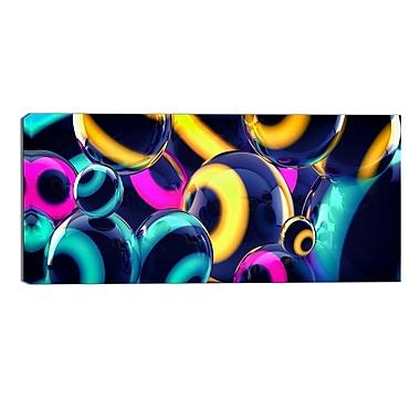 Designart – Impression sur toile, abstrait, sphères intuitives (PT3094-32-16)