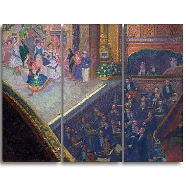 Designart Spencer Frederick, Ballet Scene from On the Sands Canvas Art Print, (PT4927-3P)