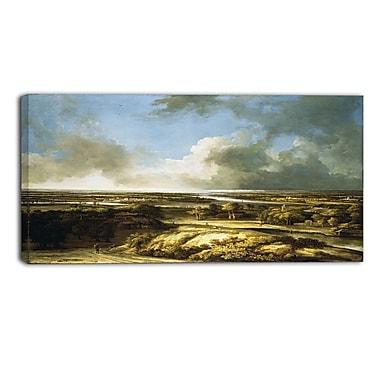 Designart – Toile imprimée de Philips Koninck « A Panoramic Landscap » (PT4846-32-16)