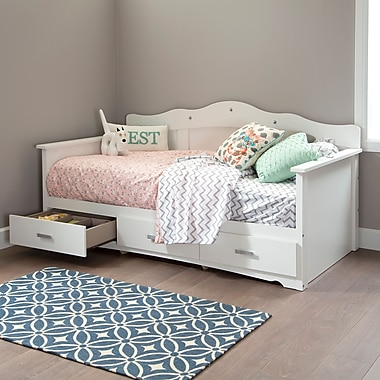 South Shore Tiara Twin Daybed with Storage (39
