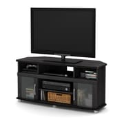 South Shore City Life Corner TV Stand, for TVs up to 50 inches, Grey Oak , 47.25'' (L) x 19.25'' (D) x 22.5'' (H)
