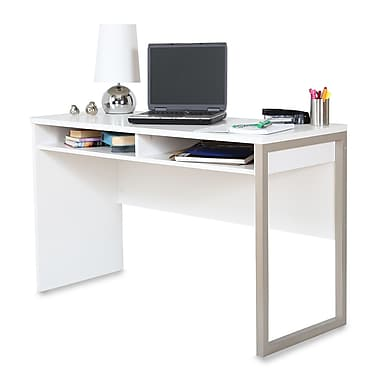 South Shore – Bureau Interface, blanc pur, 47,5 larg. x 19,5 prof. x 29,5 haut. (po)