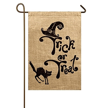 TheWatsonShop Trick or Treat Garden Flag