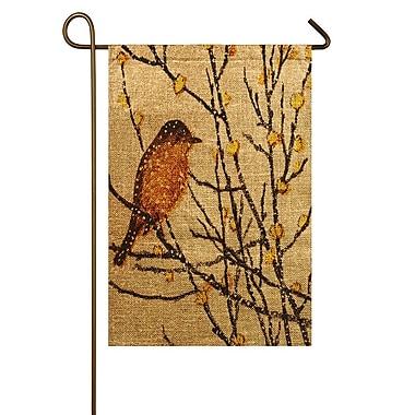 TheWatsonShop Yellow Bird Garden Flag