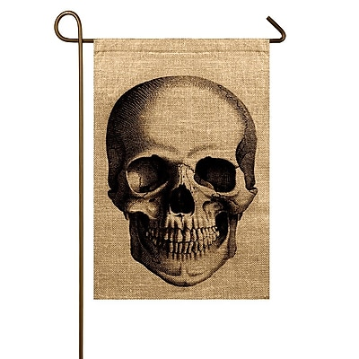 TheWatsonShop Skull Garden Flag