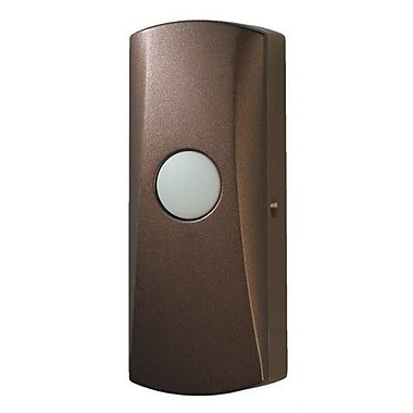 Broan Wireless Unlighted Pushbutton; Oil-Rubbed Bronze