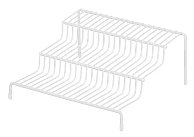 IRIS® 3-Tier Cabinet Organizer, White (261016)