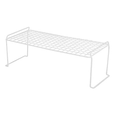 IRIS® Long Stacking Shelf, White (261062)