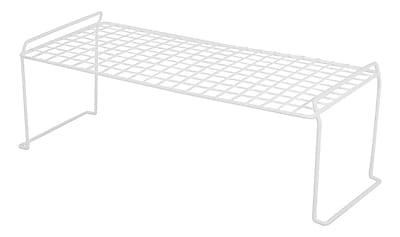 IRIS® Medium Long Stacking Shelf, White (261060)