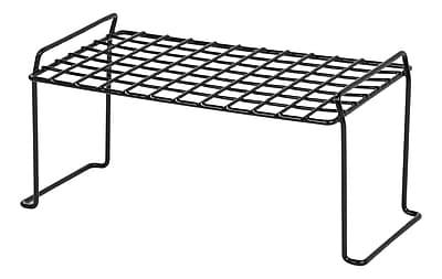 IRIS® Small Stacking Shelf, Black (261001)
