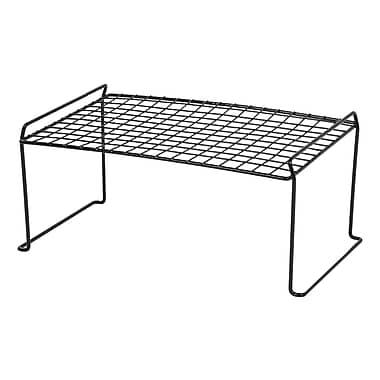 IRIS® Medium Stacking Shelf, Black (261065)