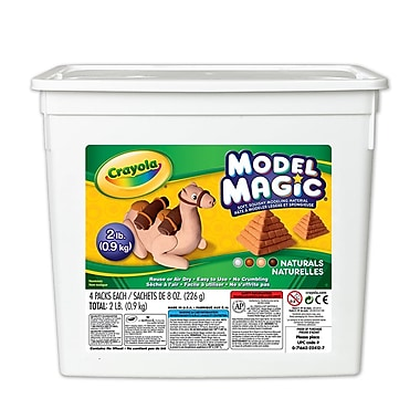 Crayola® Model Magic® Bucket, Naturals, 2 LB